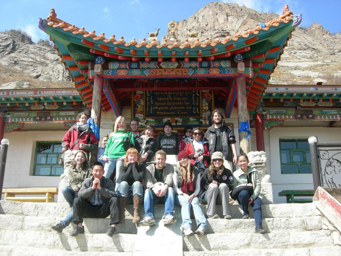 Volunteers explore Mongolia over the weekend as part of their best volunteer opportunity for students.